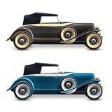 Retro Car Set Royalty Free Stock Images