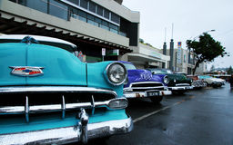 Retro car. Shevrolet. Cooly Rocks On Festival Royalty Free Stock Images