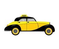 Retro car taxi Royalty Free Stock Image
