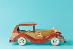 Retro car toy Royalty Free Stock Photography