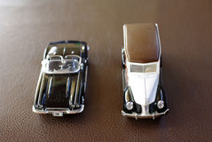 Retro car toy Stock Images