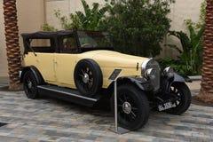 Retro car at Universal Studios Hollywood in Los Angeles, California, USA. April 2016. Royalty Free Stock Images