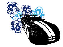 Retro car vector Royalty Free Stock Images