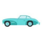 Retro car vector illustration. Stock Photo