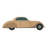 Retro car vector illustration. Royalty Free Stock Photography