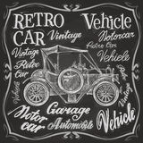 Retro car vector logo design template.  vehicle Stock Photos