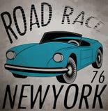 Retro car. Vintage car. Sport car. Stock Photography