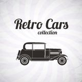 Retro car, vintage collection Royalty Free Stock Photography