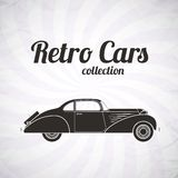 Retro car, vintage collection Stock Images