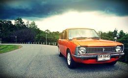 Retro car. Vintage sport Royalty Free Stock Photography