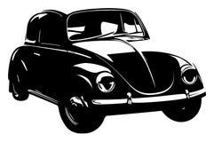 Retro car. Vintage car. Vehicle Royalty Free Stock Photo