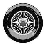 Retro car wheel Royalty Free Stock Images