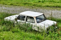 Retro car Zaporozhets ZAZ Royalty Free Stock Image