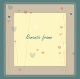 Retro card design Royalty Free Stock Photography