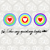 Be my guiding light Royalty Free Stock Images
