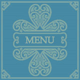 Retro card for menu Royalty Free Stock Images