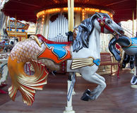 Retro carousel Royalty Free Stock Photography