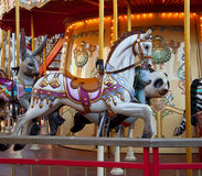 Retro Carousel Royalty Free Stock Image