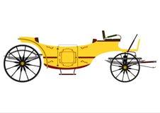 Retro carriage Royalty Free Stock Photo