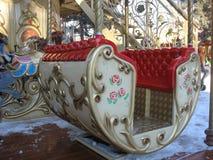 Retro carrousel Royalty-vrije Stock Fotografie