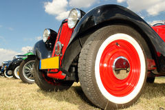 Retro cars Stock Photo
