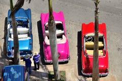Retro cars in Havana. Stock Images