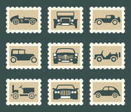Retro car set Stock Images