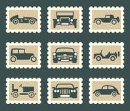 Retro car set royalty free illustration