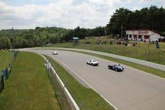 Retro Cars Races Royalty Free Stock Photography