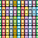 Retro Cars Seamless Royalty Free Stock Image