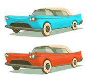 Retro cars Royalty Free Stock Photo