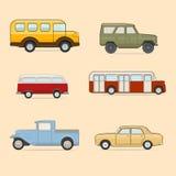 Retro Cars Royalty Free Stock Photography