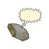 retro cartoon accordion Stock Photography