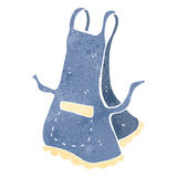 Retro cartoon apron Royalty Free Stock Photo