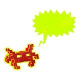retro cartoon arcade game sprite Stock Image
