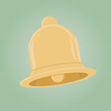 Retro cartoon bell Royalty Free Stock Images