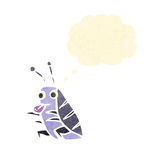 retro cartoon bug Stock Photography