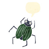 retro cartoon bug Royalty Free Stock Photo