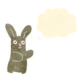 Retro cartoon bunny rabbit Royalty Free Stock Photography