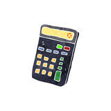 Retro cartoon calculator Royalty Free Stock Photo