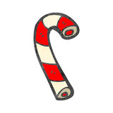 Retro cartoon candy canes Stock Image