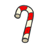 Retro cartoon candy canes Stock Images