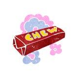 Retro cartoon candy chew bar Stock Photography