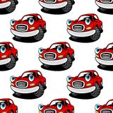 Retro cartoon cars seamless pattern Royalty Free Stock Photo