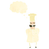 retro cartoon,chef Royalty Free Stock Images