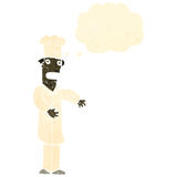 Retro cartoon chef Royalty Free Stock Image