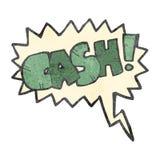 retro cartoon comic book shout for cash Royalty Free Stock Photo