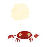 Retro cartoon crab Stock Photography