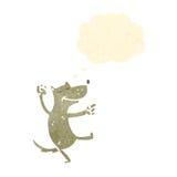 retro cartoon dancing dog Stock Photos