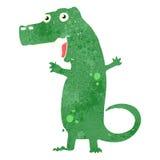 retro cartoon dinosaur Royalty Free Stock Photography